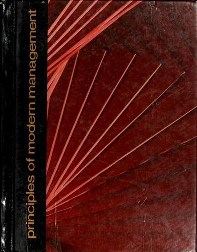 Download Principles of modern management