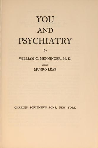 Download You and psychiatry