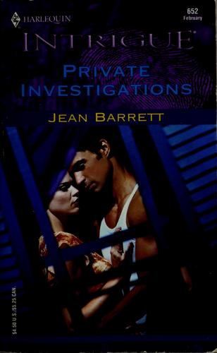 Private investigations by Jean Barrett