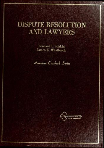 Download Dispute resolution and lawyers