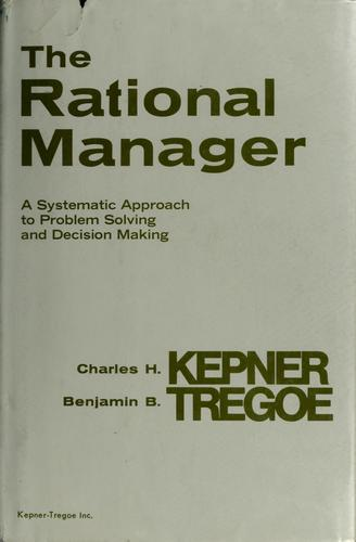 Download The rational manager