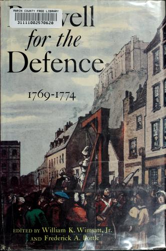 Download Boswell for the defence, 1769-1774