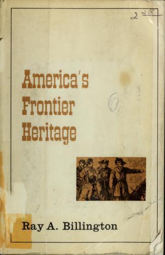 Download America's frontier heritage.