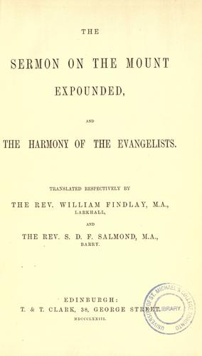 The works of Aurelius Augustine, Bishop of Hippo