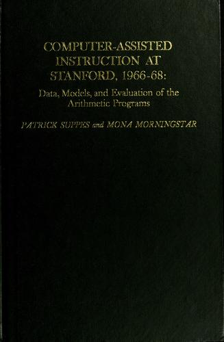 Download Computer-assisted instruction at Stanford, 1966-68