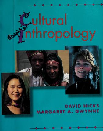 Cover of: Cultural anthropology | Hicks, David