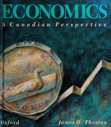 Cover of: Economics   James D. Thexton