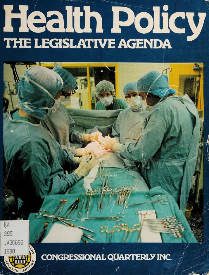 Health policy by Congressional Quarterly, Inc.