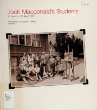 Cover of: Jock Macdonald's students | Murray, Joan