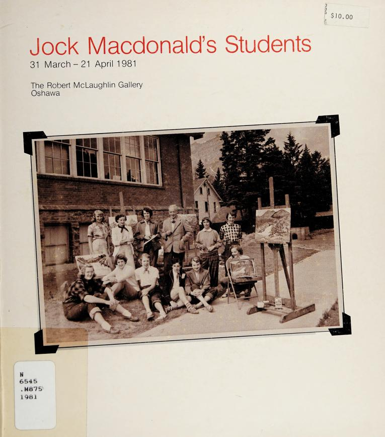 Jock Macdonald's students by Murray, Joan