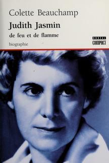 Cover of: Judith Jasmin, 1916-1972 | Colette Beauchamp