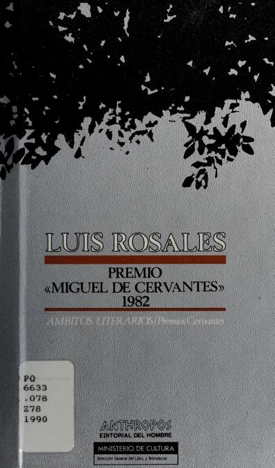 Luis Rosales by