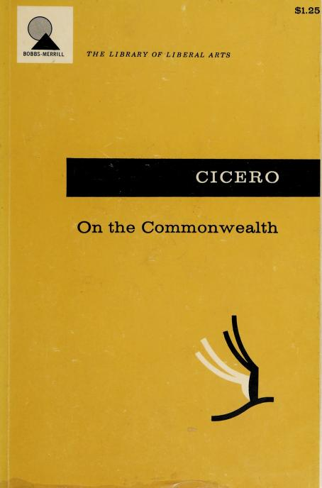 On the Commonwealth by Cicero