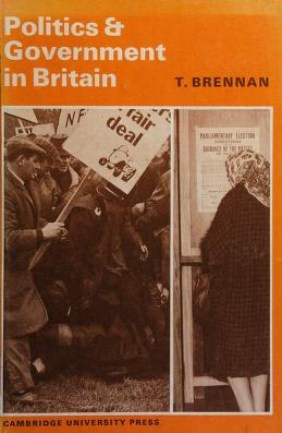 Cover of: Politics and government in Britain | Tom Brennan