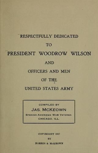 My military record by [McKeown, James],